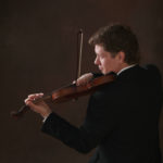 Oleg Bezuglov plays violin